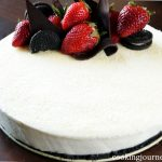 White Chocolate Mousse Cake
