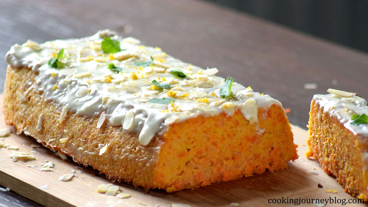 carrot cake loaf without flour