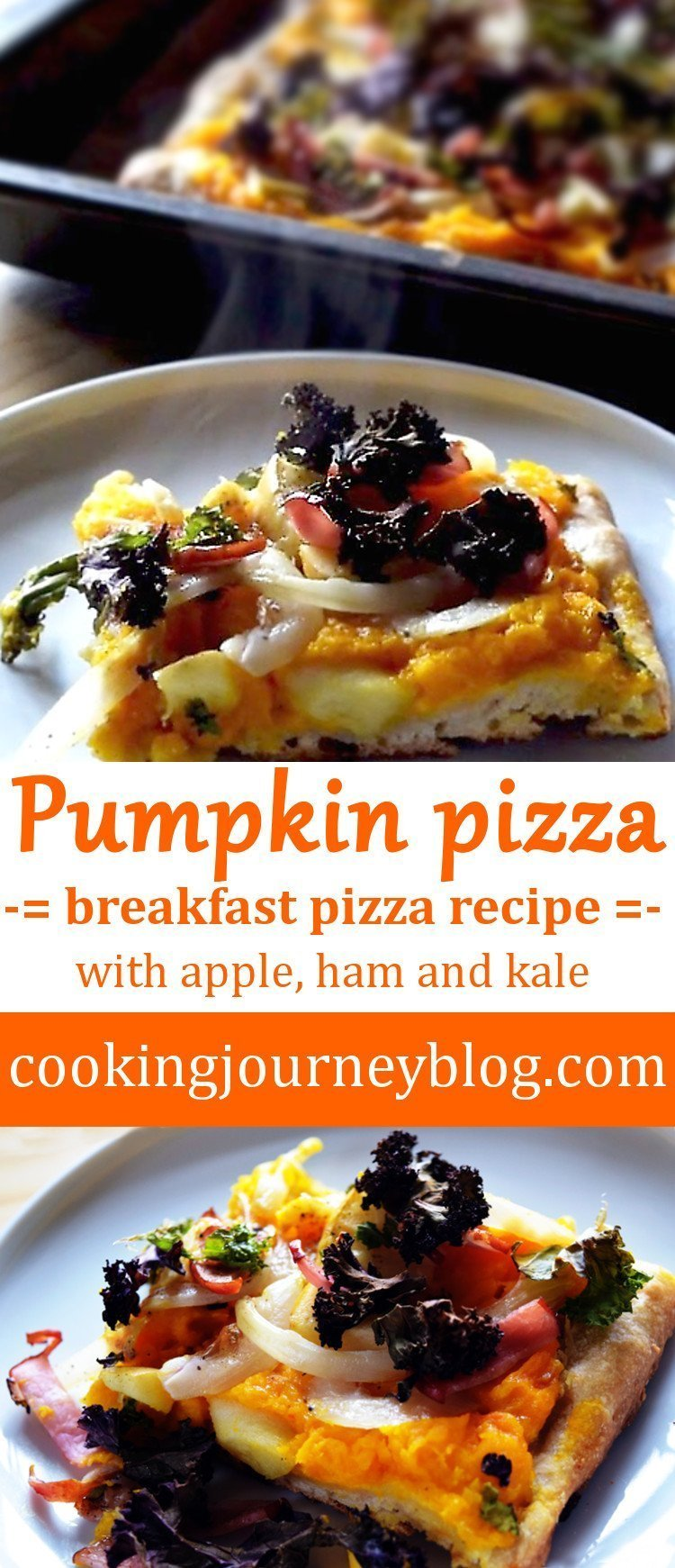 Pumpkin Pizza – Breakfast pizza recipe