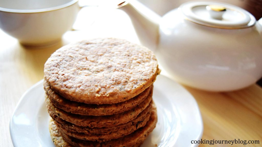 earl grey tea infused cookies