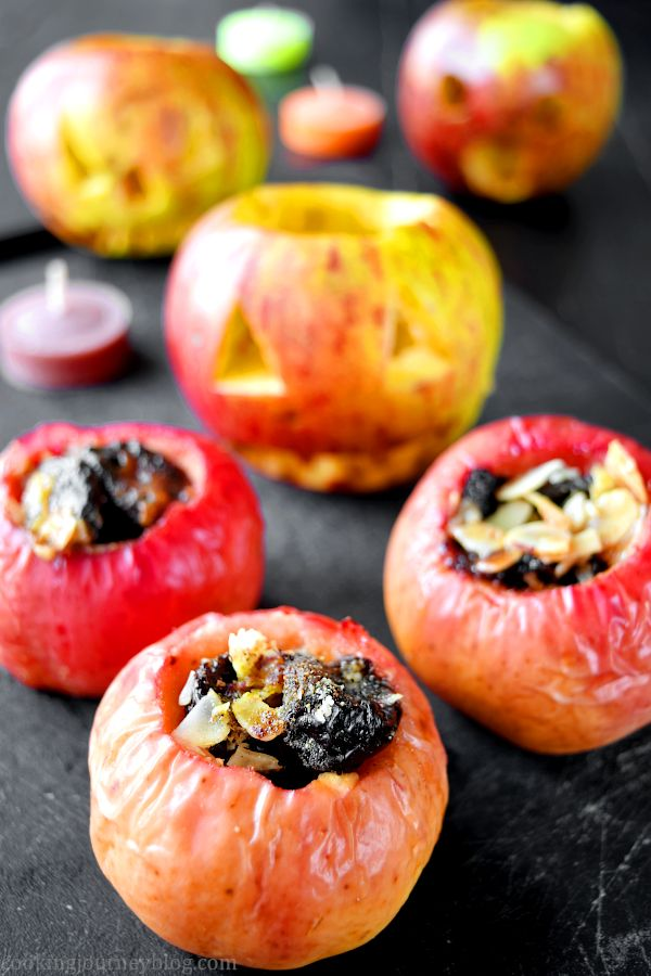 Baked apple, Healthy Halloween treats