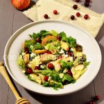 Cranberry salad recipes – Apple cranberry salad with feta
