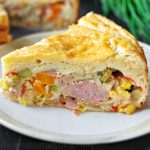 Turkey pot pie is one of the tastiest turkey leftover recipes. Easy and delicious recipe for your family table! Creamy spicy filling and soft crust.