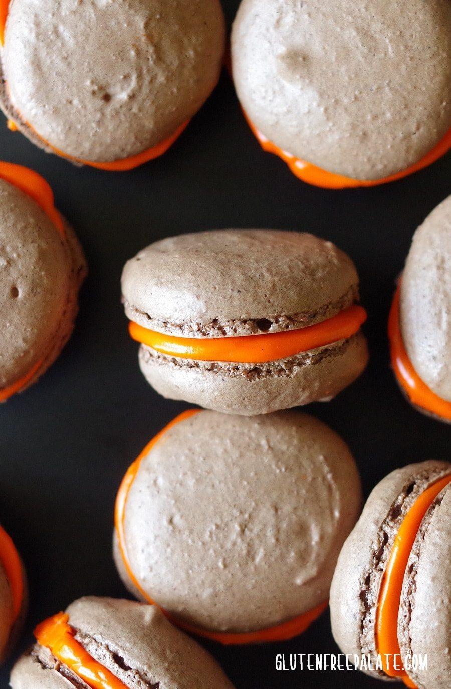 Gluten Free Chocolate Macarons