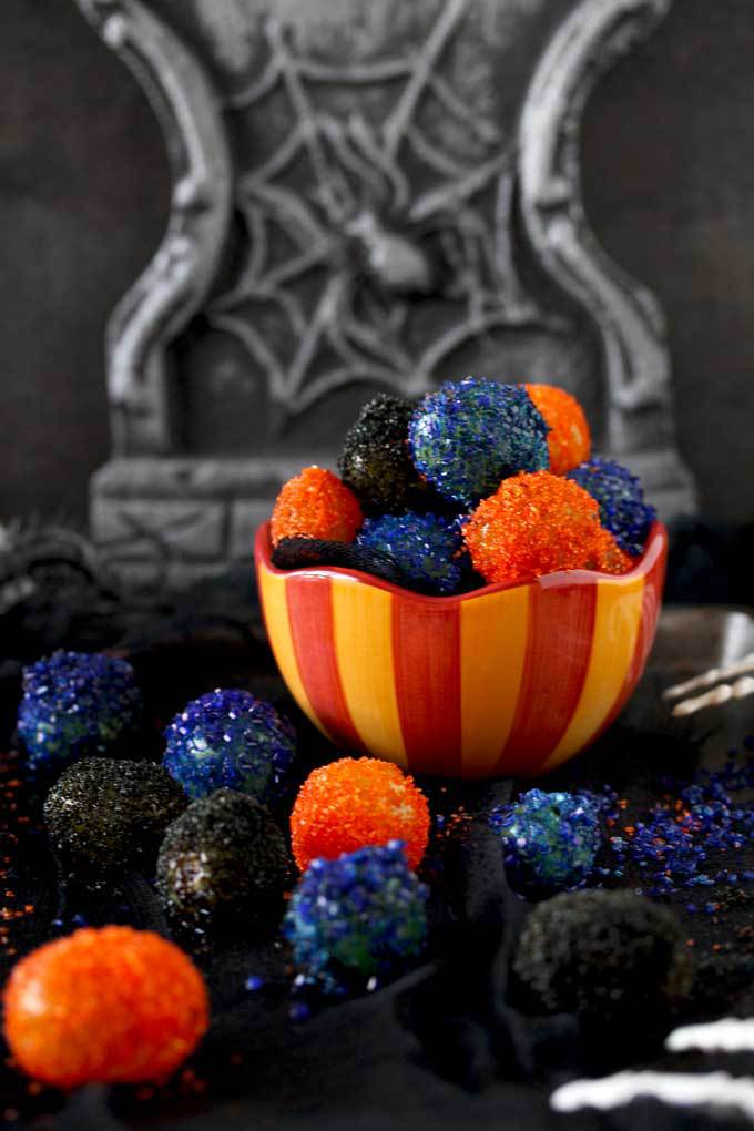 Halloween Prosecco Sugar Grapes