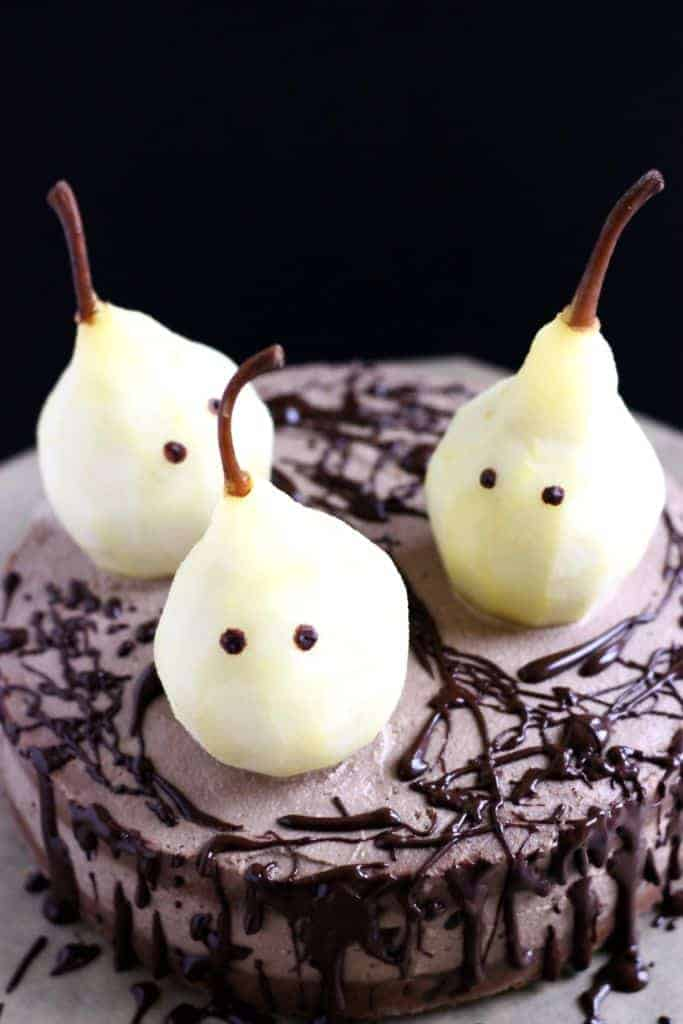 Vegan Ghost cake