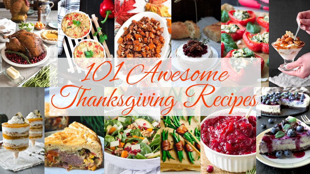 101 Awesome Thanksgiving Recipes