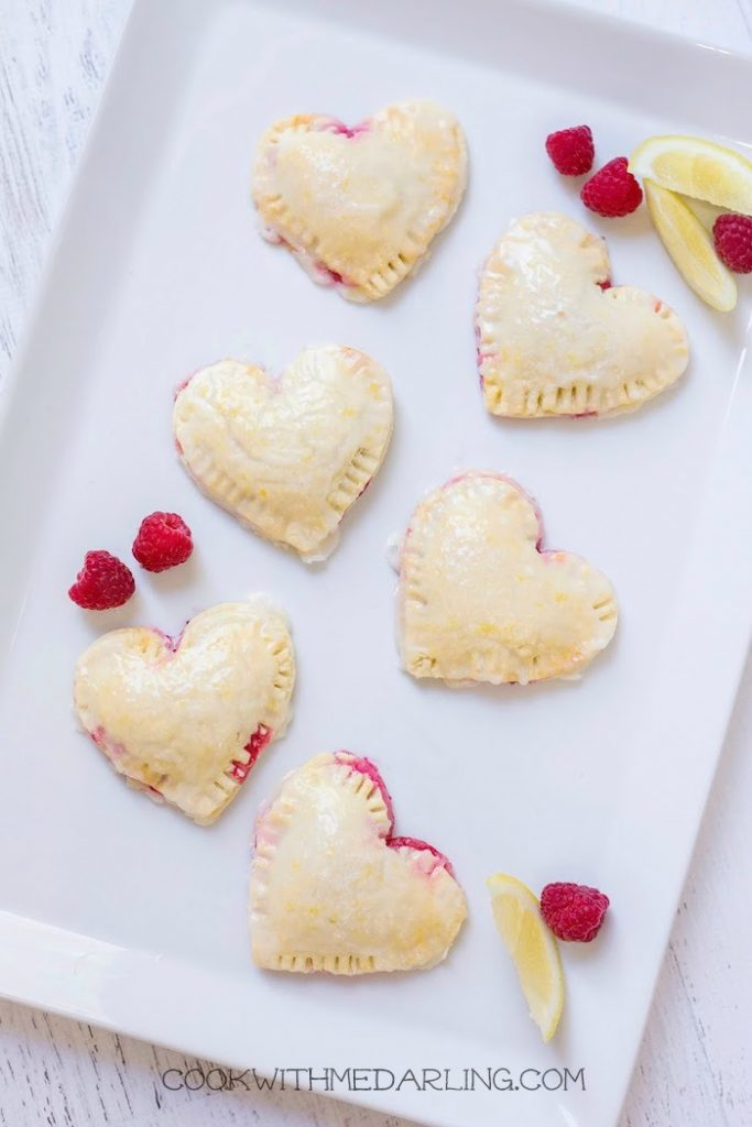 Raspberry-Lemon Hand Pies for Two