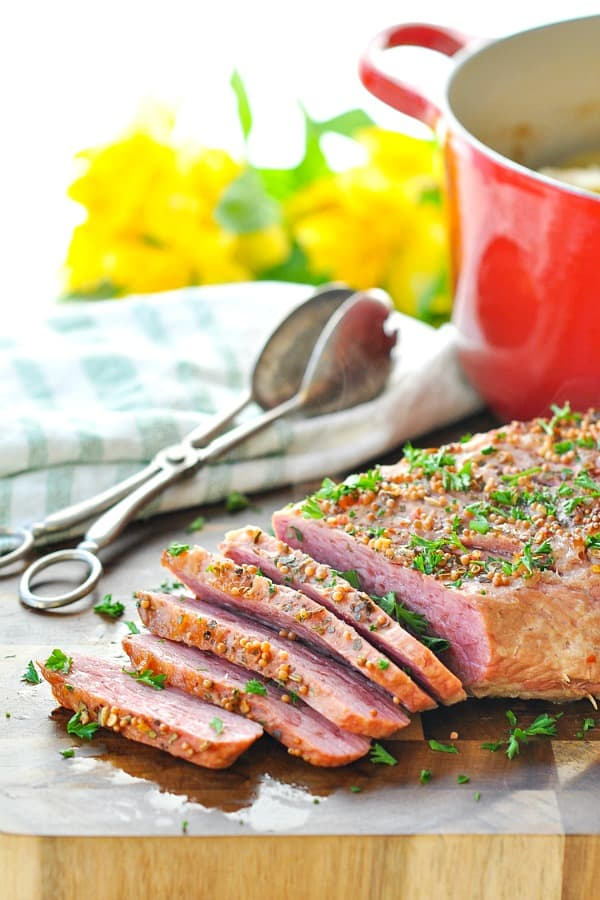 Dump-and-Bake Corned Beef and Cabbage