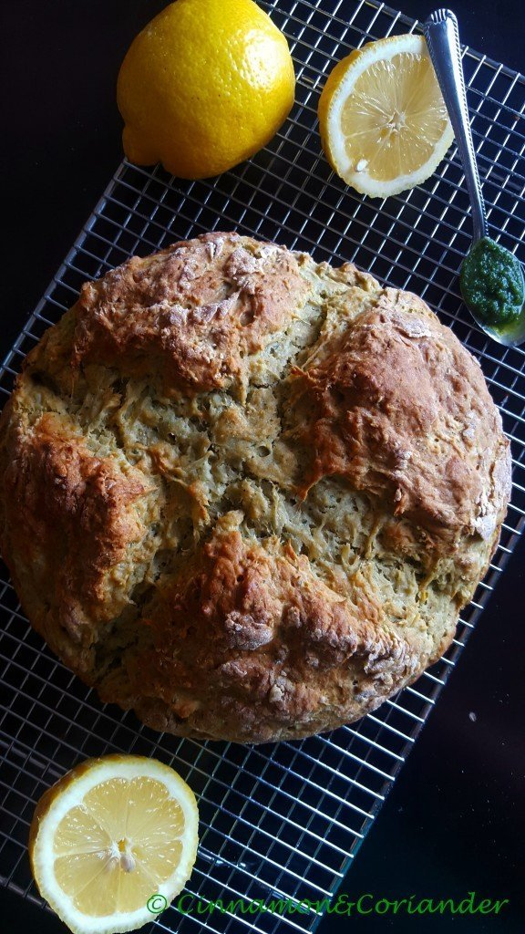 Irish Potato Bread with Lemon & Cilantro