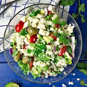 Vegan Cauliflower Salad recipe