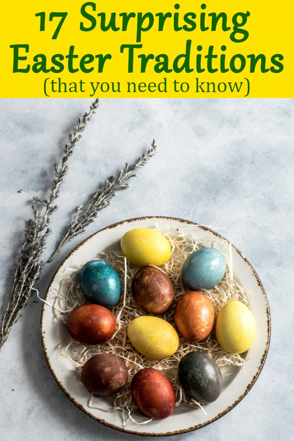 Easter traditions around the world that you need to know. Each Christian country has its own Easter traditions! Fin out their traditional Easter food and a surprising tradition.