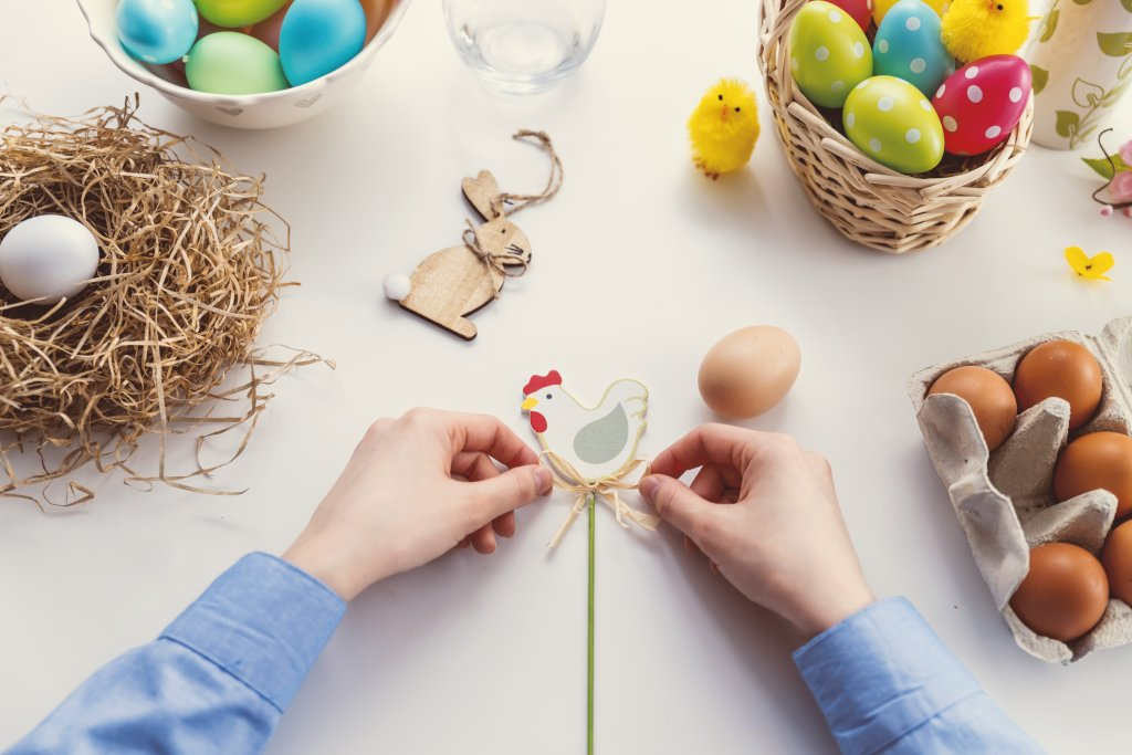 17 Surprising Easter Traditions That You NEED To Know. Making traditional decorations for Easter