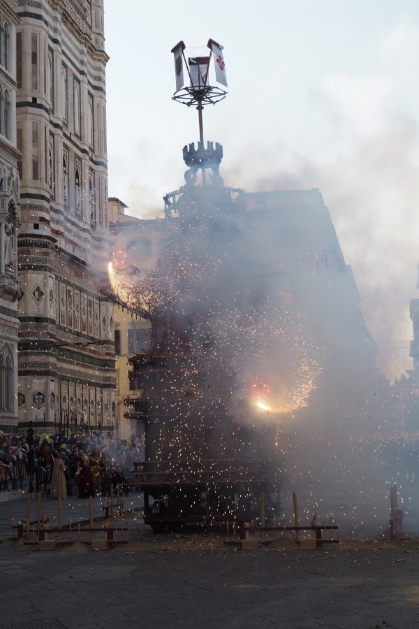 "Scoppio del Carro or ""explosion of the cart"""