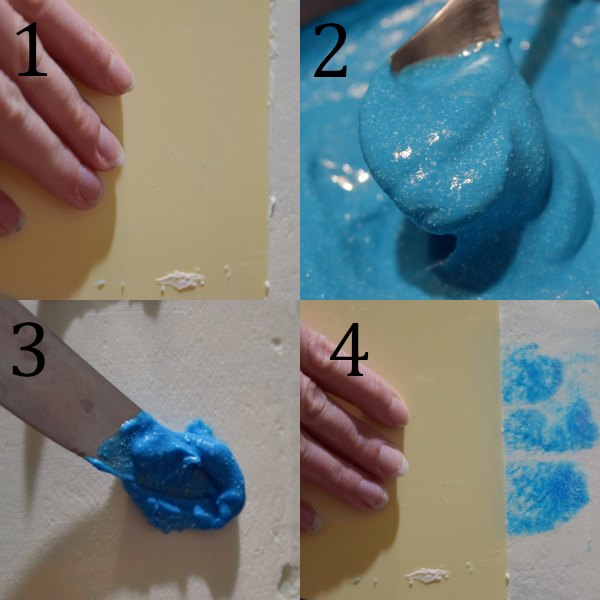 how to frost the cake