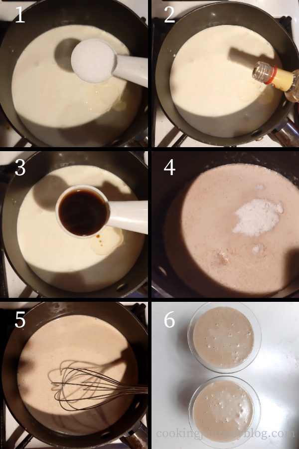 How to make panna cotta - step by step