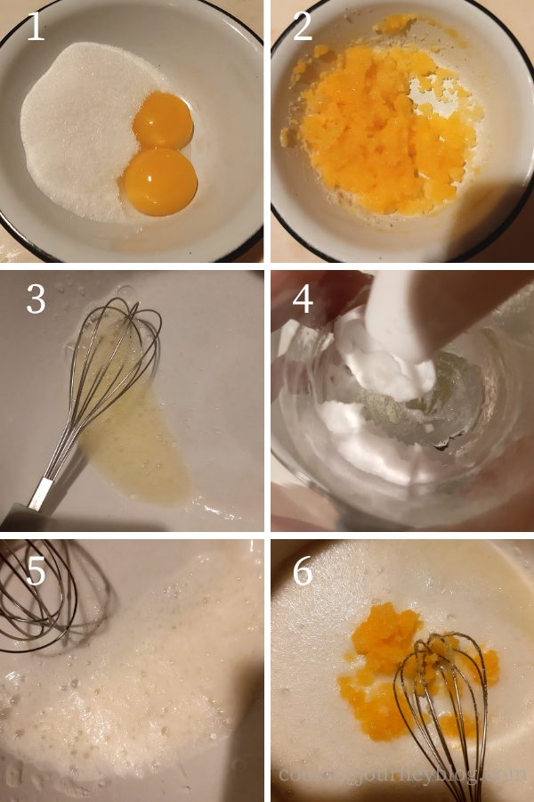 How to make the cookie dough step by step 1-6 process to start