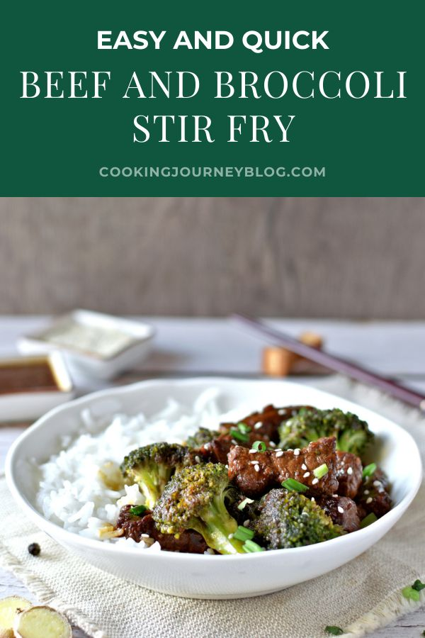 Quick and easy beef and broccoli stir fry. Healthy Chinese recipe to make next for dinner! Including tips on how tomake keto beef and broccoli.