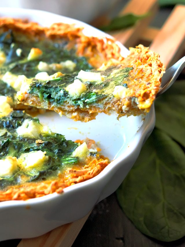 Spinach quiche – Easter brunch – Sweet potato recipes 8